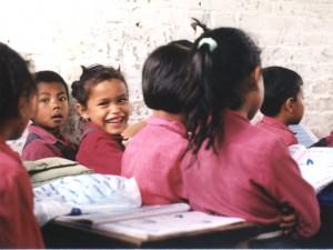 Nepal - Teppichkinder in der Schule