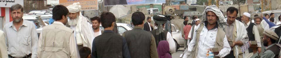 Bazar in Kabul