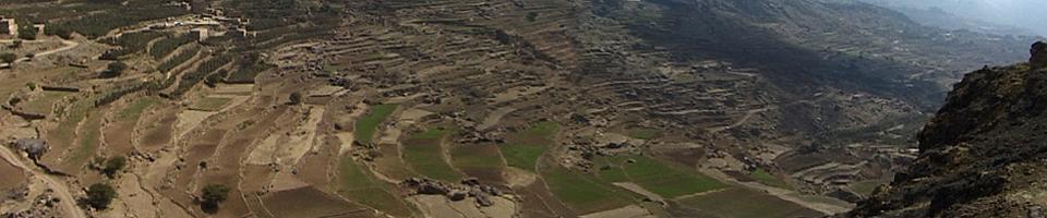 Terrassen Jabal Haraz, Jemen