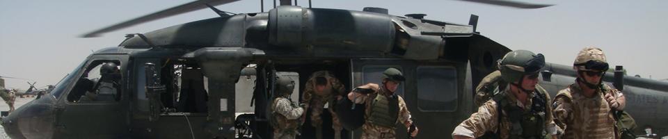 US-Militärhubschrauber, Kandahar, Afghanistan