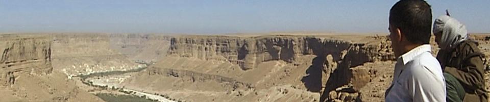 Wadi Doan, Jemen - Blick ins Tal
